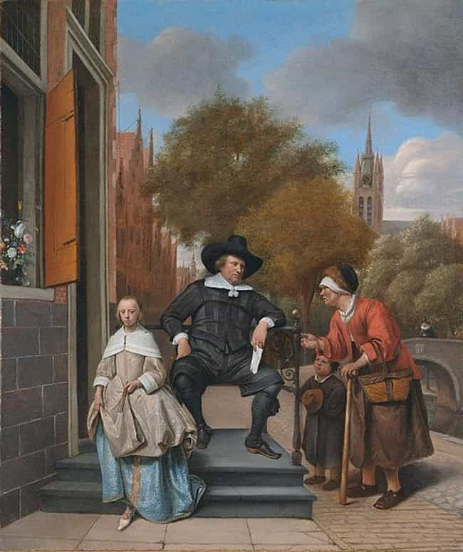 Famous Genre Paintings by Jan Steen