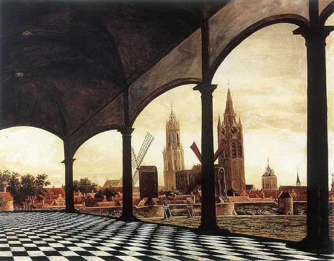A View of Delft through ... is listed (or ranked) 3 on the list Famous Dutch Golden Age Paintings
