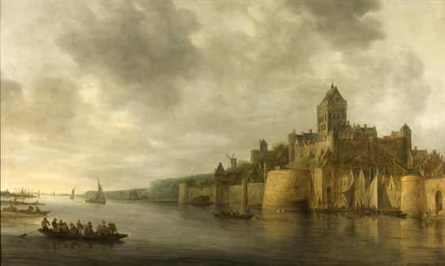 The View of Valkhof at N... is listed (or ranked) 3 on the list Famous Jan van Goyen Paintings