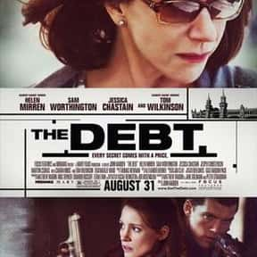 The Debt is listed (or ranked) 5 on the list The Best Helen Mirren Movies