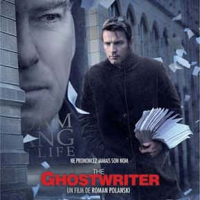 The Ghost Writer is listed (or ranked) 2 on the list The Best Political Drama Movies, Ranked