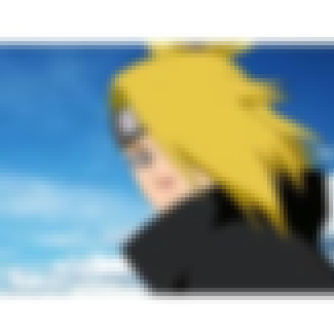 Deidara is listed (or ranked) 2 on the list List of All Naruto Villains