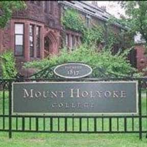 Mount Holyoke College is listed (or ranked) 10 on the list The Best Womens Colleges in the US
