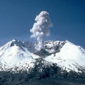 Mount St. Helens is listed (or ranked) 5 on the list Volcanoes in the United States