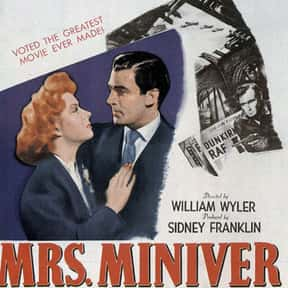 Mrs. Miniver is listed (or ranked) 24 on the list Ew.com's 24 Great Movies to Watch With Mom