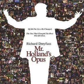 Mr. Holland's Opus is listed (or ranked) 5 on the list The Best Richard Dreyfuss Movies