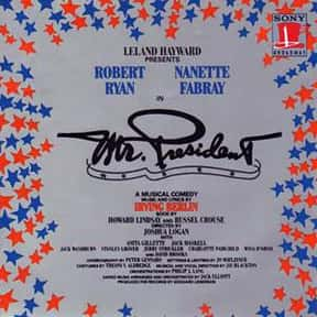 Mr. President is listed (or ranked) 8 on the list Irving Berlin Plays List
