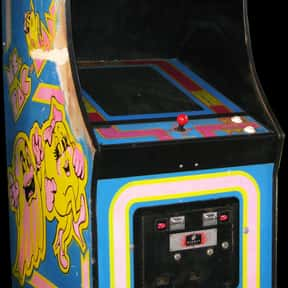 Ms. Pac-Man is listed (or ranked) 9 on the list The Best Classic Nintendo Arcade Games