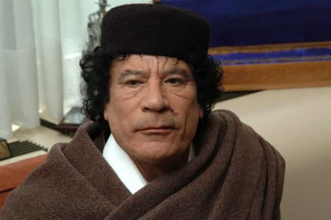 Muammar al-Gaddafi is listed (or ranked) 1 on the list Famous People Who Died of Killed In Action