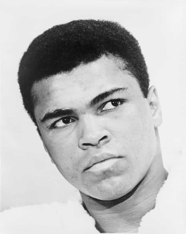 Muhammad Ali is listed (or ranked) 2 on the list 29 Athletes of Irish Descent