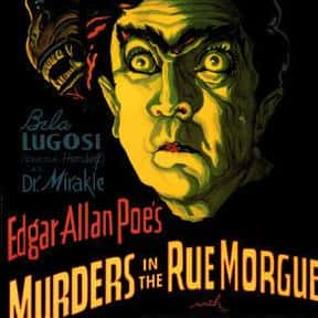 The Murders in the Rue Morgue is listed (or ranked) 15 on the list The Best '30s Horror Movies