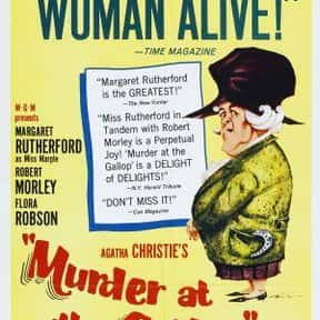 Murder at the Gallop is listed (or ranked) 17 on the list The Best Movies Based on Agatha Christie Stories
