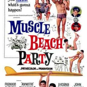 Muscle Beach Party is listed (or ranked) 5 on the list The Best Teen Movies of the 1960s