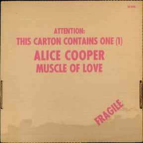 Muscle of Love is listed (or ranked) 25 on the list The Best Alice Cooper Albums of All Time