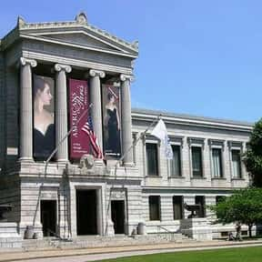 Museum of Fine Arts, Boston is listed (or ranked) 10 on the list The Best Museums in the United States