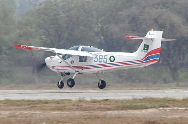 PAC MFI-17 Mushshak is listed (or ranked) 3 on the list Planes Used By Royal Saudi Air Force