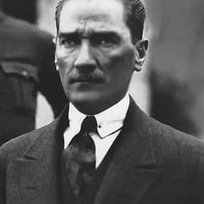 Mustafa Kemal Atatürk is listed (or ranked) 7 on the list The Most Important Leaders In World History