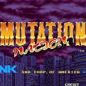 Mutation Nation is listed (or ranked) 2 on the list List of SNK Playmore Beat 'em Ups