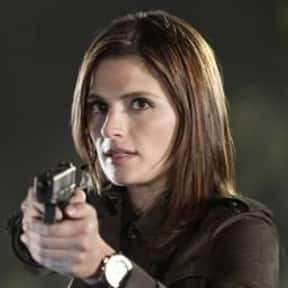 Kate Beckett is listed (or ranked) 15 on the list The Best Policemen and Detectives on TV Right Now