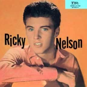 Ricky Nelson is listed (or ranked) 4 on the list The Best Ricky Nelson Albums of All Time