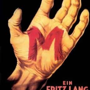 M is listed (or ranked) 4 on the list The Best '30s Thriller Movies