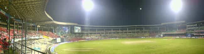 M. Chinnaswamy Stadium is listed (or ranked) 2 on the list Bangalore Architecture: Famous Landmarks and Buildings