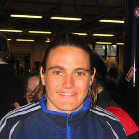 Nadine Angerer is listed (or ranked) 6 on the list College & Professional Athletes Who Are Openly Gay