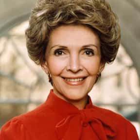 Nancy Reagan is listed (or ranked) 11 on the list The Most Loved American First Ladies