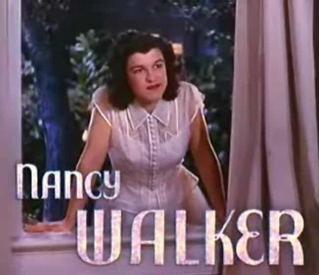 Nancy Walker is listed (or ranked) 5 on the list True Colors Cast List