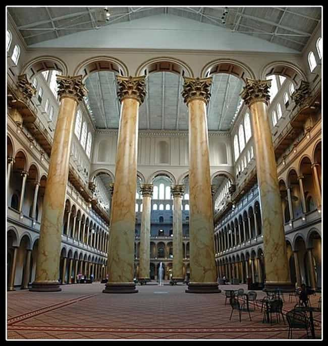 National Building Museum... is listed (or ranked) 3 on the list 10 Terrifying Ghost Stories From Washington D.C.