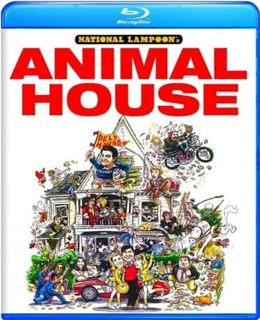 National Lampoon's Animal Hous is listed (or ranked) 2 on the list 100 All Time Greatest Comedy Films