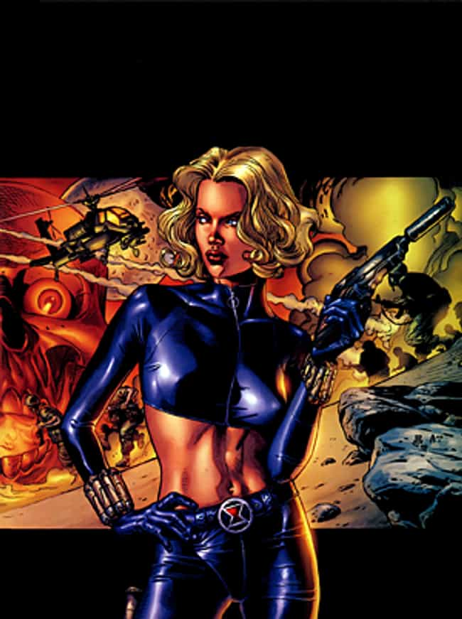 Black Widow (Yelena Belo... is listed (or ranked) 1 on the list The Best Black Widow Villains