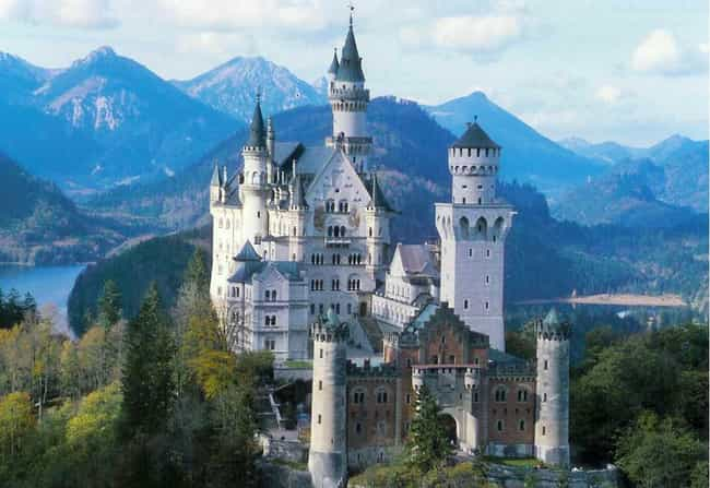 Neuschwanstein Castle is listed (or ranked) 1 on the list The Most Beautiful Places in Europe