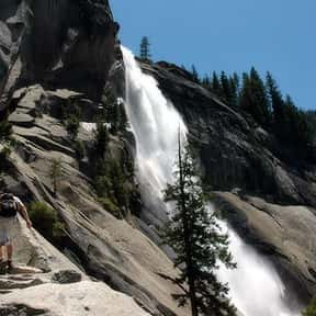Nevada Fall is listed (or ranked) 17 on the list List of Waterfalls in the US