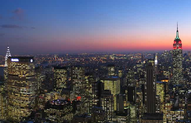 New York City is listed (or ranked) 1 on the list The Best Girls' Trip Destinations