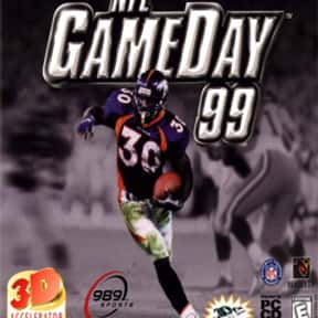 NFL GameDay 99 is listed (or ranked) 11 on the list The Best American Football Games of All Time