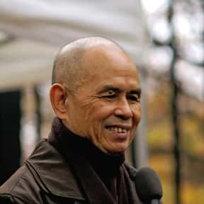 Nhat Hanh is listed (or ranked) 13 on the list List of Famous Pacifists