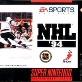 NHL '94 is listed (or ranked) 2 on the list The Best NHL Games
