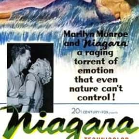 Niagara is listed (or ranked) 23 on the list The Best '50s Thriller Movies