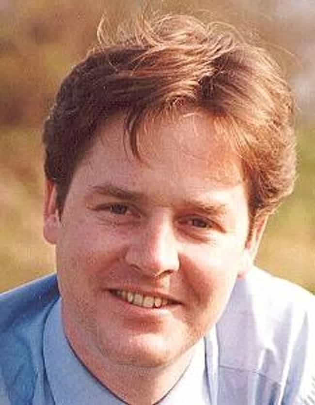 Nick Clegg is listed (or ranked) 2 on the list Famous People who Majored in Social Anthropology