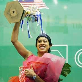 Nicol David is listed (or ranked) 22 on the list The Best Athletes Of All Time