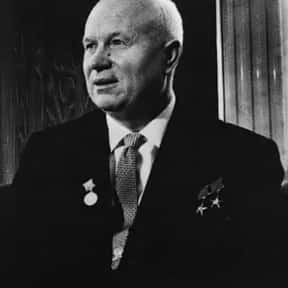 Nikita Khrushchev is listed (or ranked) 19 on the list List of Famous Dictators