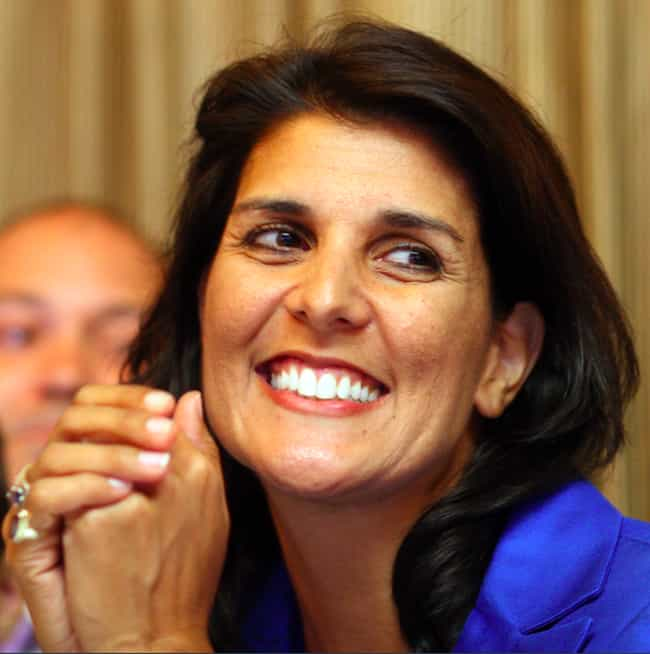 Nikki Haley is listed (or ranked) 2 on the list Famous Female Accountants