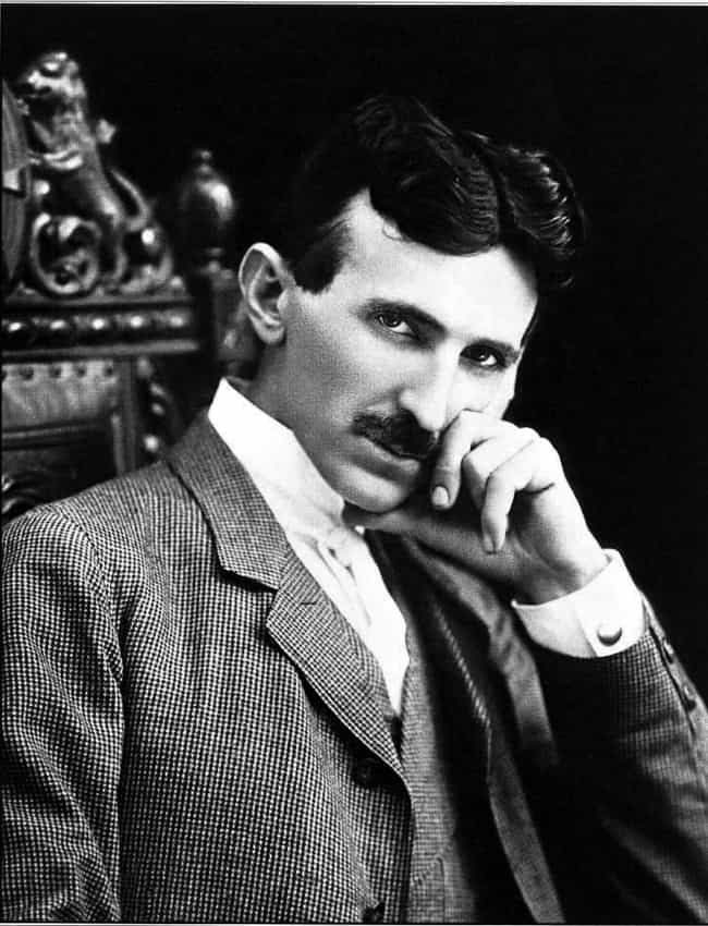 Nikola Tesla is listed (or ranked) 4 on the list Famous Male Physicists