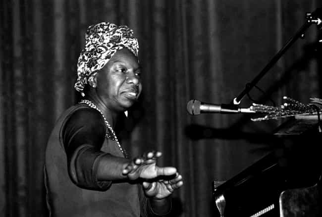 Nina Simone is listed (or ranked) 1 on the list Famous Female Jazz Pianists