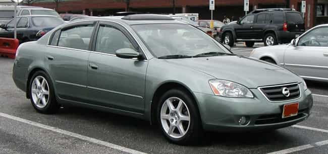 nissan altima is listed or ranked 2 on the list full list of nissan