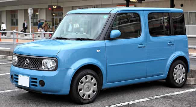 nissan cube is listed or ranked 4 on the list full list of nissan
