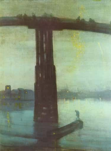 Nocturne: Blue and Gold – Old  is listed (or ranked) 2 on the list List of Famous Marine Art Paintings