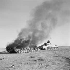 North African Campaign is listed (or ranked) 20 on the list World War II Battles Involving the Axis Powers