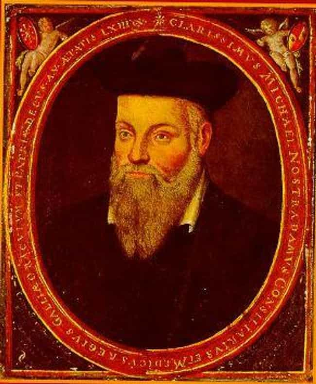 Nostradamus is listed (or ranked) 4 on the list List of Famous Prophets
